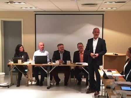 Kommunal og moderniseringsminister Jan Tore Sanner