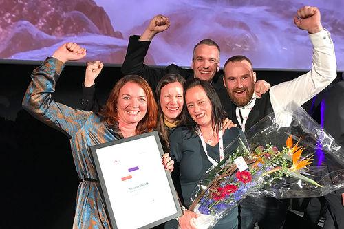 Destinasjon Trysil vant Reiselivsprisen 2017, som deles ut av Innovasjon Norge. Foto: Trysil.