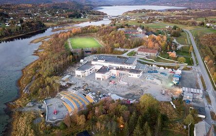 Valnesfjord skole og flerbrukshall Oktober 2017