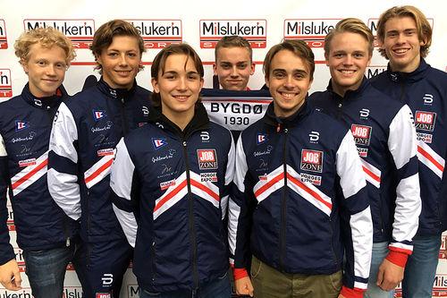Team Bygdøs løpere for sesongen 2017/2018. Foto: Team Bygdø.
