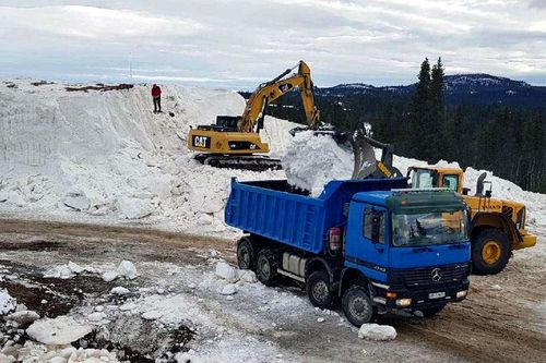 Snøhaugen på Beitostølen i forkant av Beitosprinten et tidligere år. Foto: Norges Skiforbund.