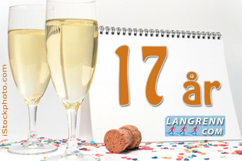 17 år med Langrenn.com 2. november 2017.
