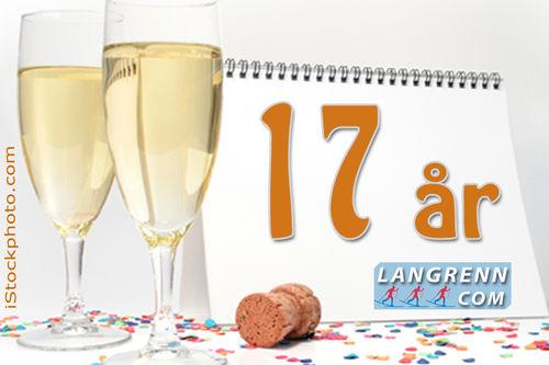 17 år med Langrenn.com 2. november 2017.