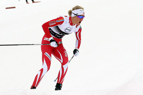 Kathrine Harsem i Beitosprinten 2017. Foto: Erik Borg.