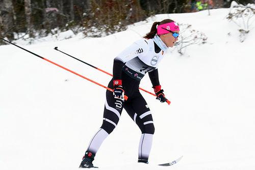 Ane Appelkvist Stenseth overbevist med 6. plass på den klassiske sprinten under sesongåpningen på Beitostølen 2017. Foto: Erik Borg.