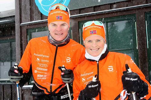 Vinjar Skogsholm og Hilde Gjermundshaug Pedersen. Foto: Arnt Nyborg.