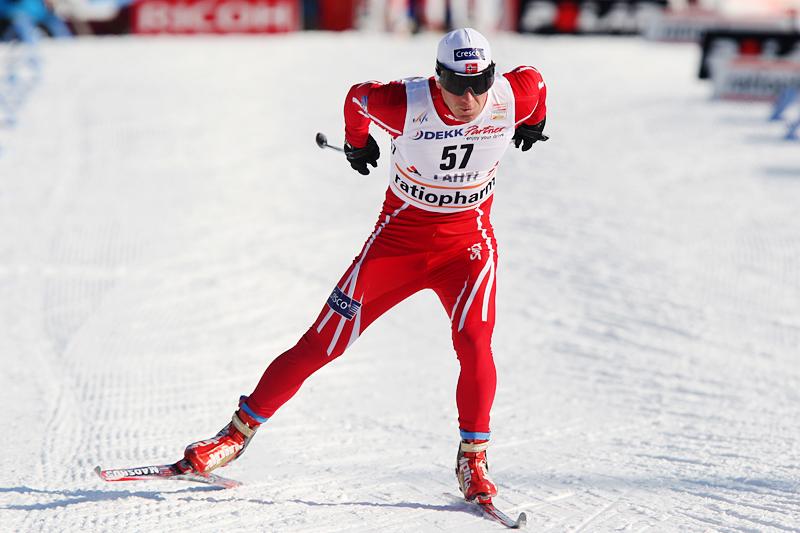 Geir Ludvig Aasen Ouren ute i verdenscupløypene i Lahti noen år tilbake i tide. Foto: Hemmersbach/NordicFocus.