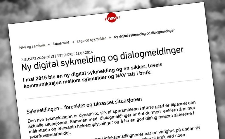 digital sykemelding