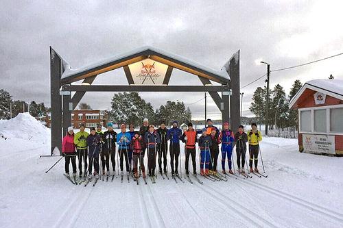 Vinteren har ankommet Jokkmokk og Nordenskiöldsloppet. Arrangørfoto.