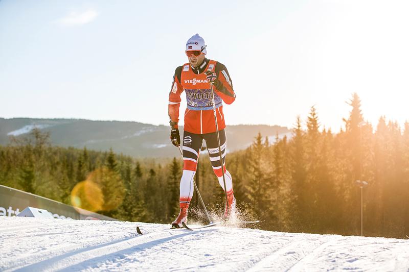 Petter Northug under verdenscupen i Lillehammer i desember 2017. Foto: Modica/NordicFocus.