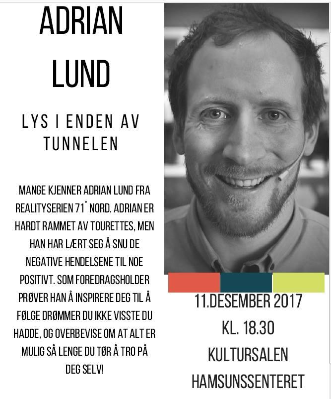 Plakat Adrian Lund