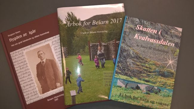 Tre nye beiarbøker i høst