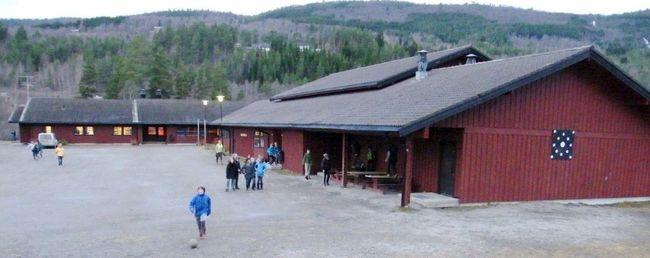Bilde av skolen