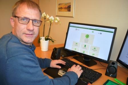Daglig leder Svend A Petersen