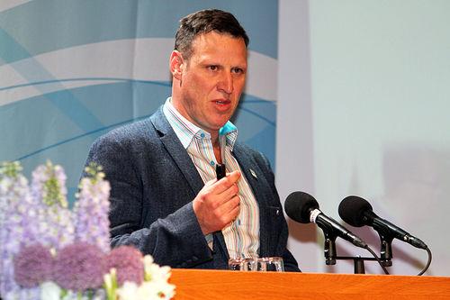 Idrettspresident Tom Tvedt. Foto: Norges idrettsforbund.