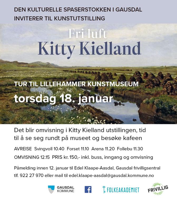 Kitty Kielland plakat