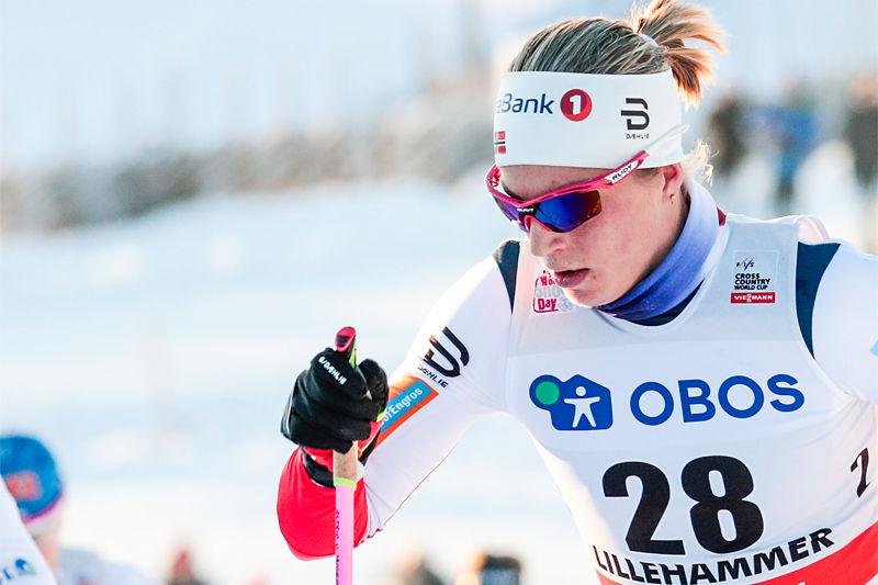 Astrid Uhrenholdt Jacobsen nådde ikke helt opp i valget om å bli utøverrepresentant i IOC. Foto: Modica/NordicFocus.