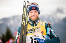 Martin Johnsrud Sundby endte på 2. plass i Tour de Ski 20172-2018. Foto: Modica/NordicFocus.