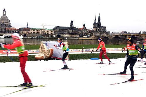 Morten Sætha fra Swix Racingservice er på plass under Verdenscup 2018 i Dresden og har sendt dette bildet til nettavisen Langrenn.com. Foto: Morten Sætha/Swix Sport.