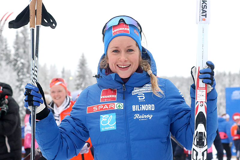 Anna Svendsen på NM Gåsbu 2018. Foto: Erik Borg.