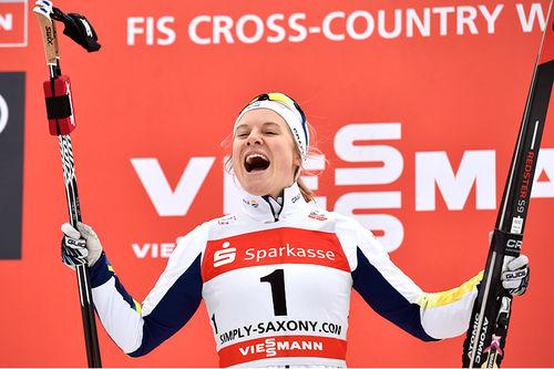 Hanna Falk. Foto: Thibaut/NordicFocus.