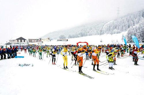 Fra en tidligere utgave av La Diagonela. Foto: Magnust Östh/Ski Classics.