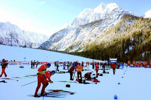 Fra løypene under verdenscupen i Planica. Foto: Morten Sætha/Swix Sport.