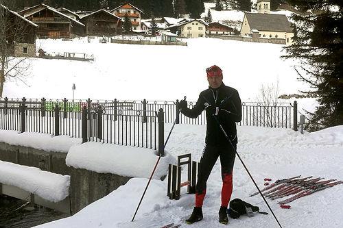 Swix tester ski foran Marcialonga 2018. Foto: Swix Sport.
