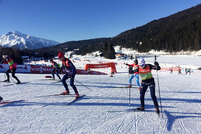 Swix tester ski foran Prøve-VM og verdenscup i Seefeld 2018. Foto: Morten Sætha / Swix Sport.