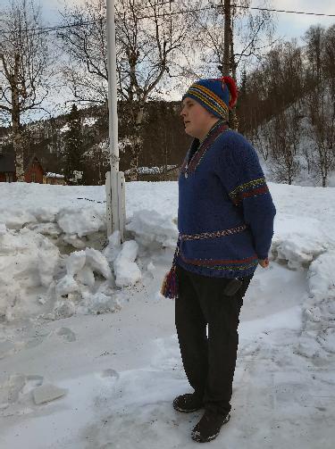 Bjørn Ove Berntsen sameflagg