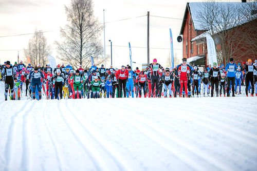 Fra en tidligere utgave av Trysil Skimaraton. Foto: Hans Martin Nysæter/Destinasjon Trysil.
