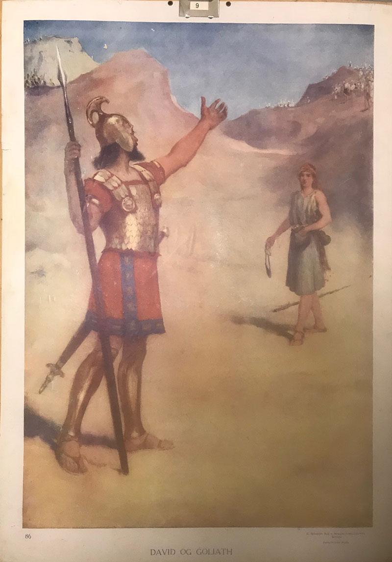 Bibelsk motiv - David mot Goliat