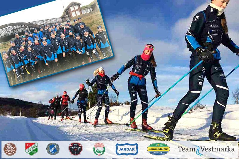 Team Vestmarka. Collage: Langrenn.com. Foto: Privat.