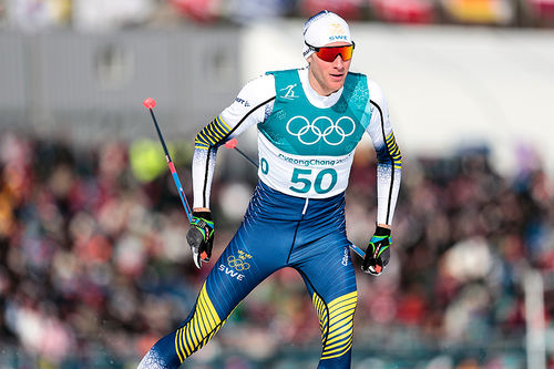 Daniel Rickardsson under OL i Pyeongchang 2018. Foto: Modica/NordicFocus.