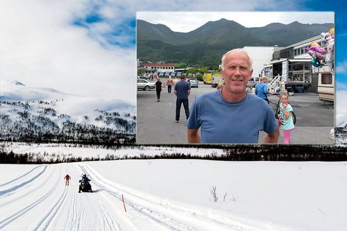 Oddvar Brå (innfelt) blir ambassadør for Reistadløpet. Foto: Magnus Östh/Visma Ski Classics og Gjermund Midtbø. Collage: Langrenn.com.