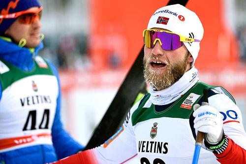 Martin Johnsrud Sundby. Foto: Thibaut/NordicFocus.