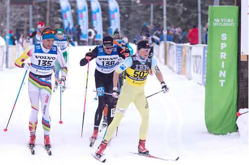Astrid Øyre Slind i Vasaloppet 2018, hvor hun til slutt gikk inn til 2. plass. Foto: Manzoni/NordicFocus.