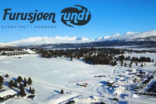 Skjermdump fra Furusjøen Rundt-rennets film for 2018.