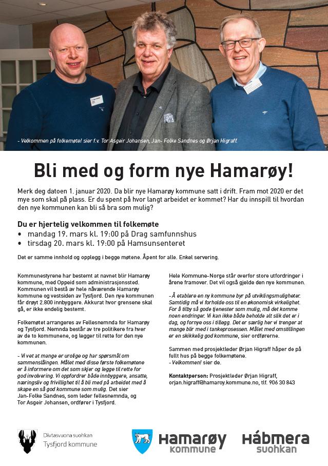 Nye Hamarøy folkemøte