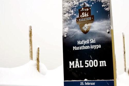 Skjermdump fra Hafjell Ski Marathon 2018-filmen.