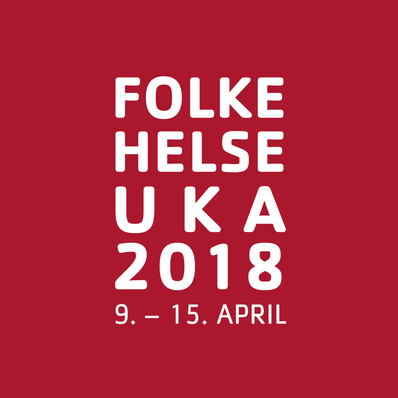 Logo folkehelseuka 2018