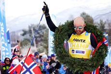 Tord Asle Gjerdalen inn til seier i Reistadløpet 2018. Foto: Magnus Östh/Visma Ski Classics.