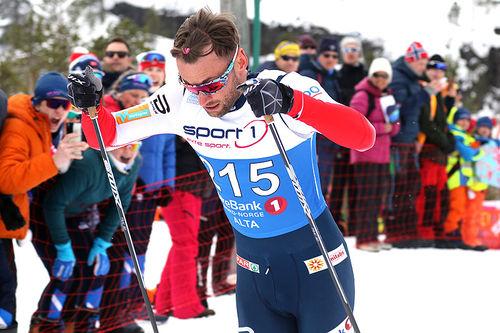 Petter Northug. Foto: Erik Borg.