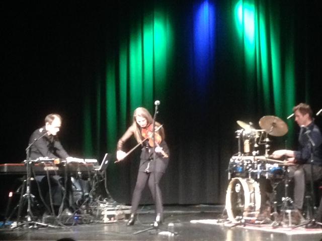 Susanne Lundeng på konsert april 2018