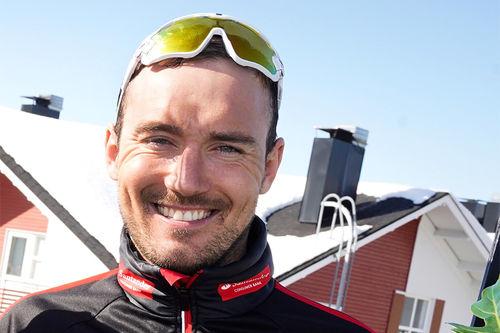 Andreas Nygaard. Foto: Magnus Östh/Visma Ski Classics.