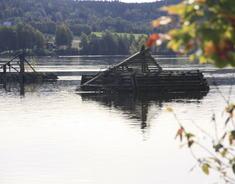 bilde av et lensekar tatt utenfor Sørumsand