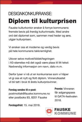 Diplom - Kulturpris