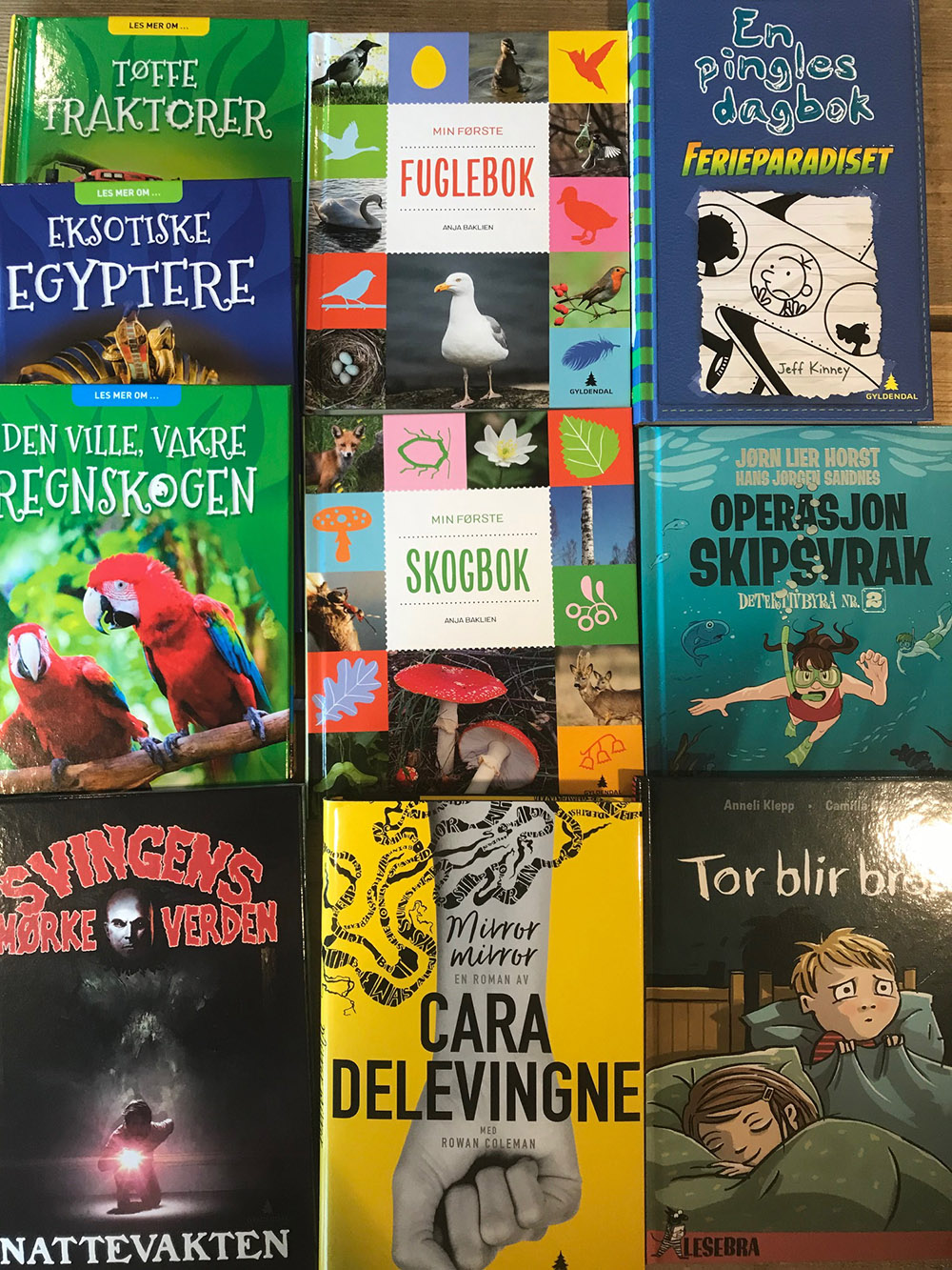 Nye barnebøker 2018