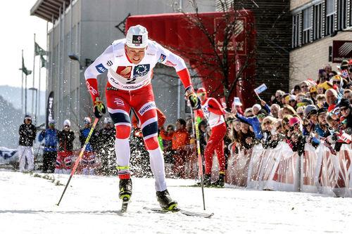 Johannes Høsflot Klæbo imponerte i fjor da han vant som han ville, og gikk en gnistrende 100m. Foto: Per Vikan, Helgelendingen.