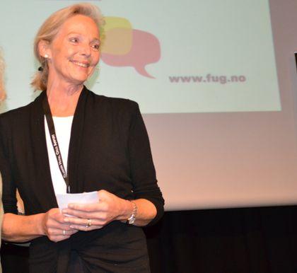 Kjersti Falck holder foredrag